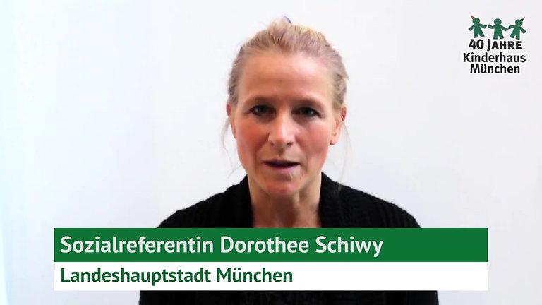 40 Jahre Kinderhaus München: Interview Dorothee Schiwy
