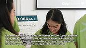 Videonoticia_ Entrega de la recaudación a Apsa y Down Madrid