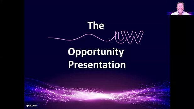 The UW Opportunity Presentation