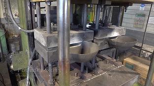 Unoperated gravity die casting machine standing