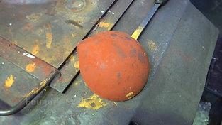 Coated casting ladle