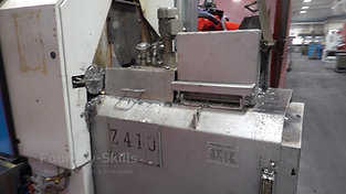 Furnace side of a hot chamber high pressure die casting machine