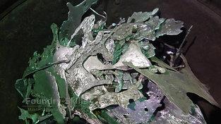 Casting flash of aluminum