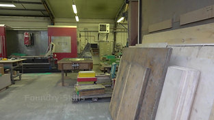 Overview patternmaking shop