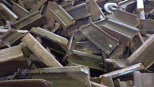 Rail breakage as ingot material
