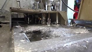 Zinc bath of a hot chamber high pressure die casting machine