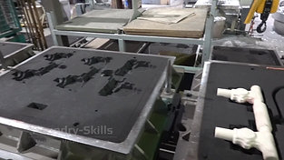 Moulding plant overview