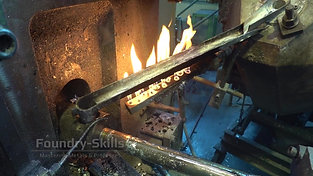 Dosing channel in cold chamber high pressure die casting