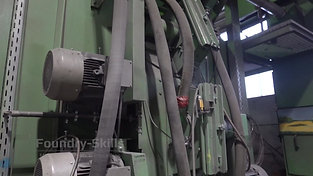Overview of a blast cleaning chamber