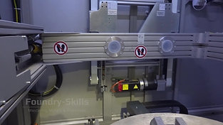 Interior view of an X-ray machine