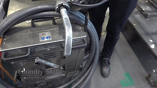 Overview dry ice cleaning machine