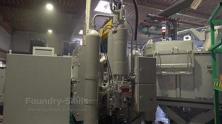 Dosing furnace and pressure reservoir