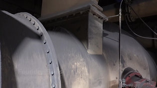 Wind pipe system of a cupola furnace