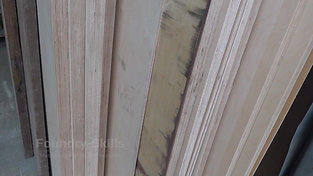 Timber stock for pattern making
