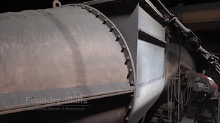 Wind pipes of a cupola furnace