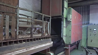 Overview heat treatment furnace