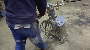 Equipment for spray coating