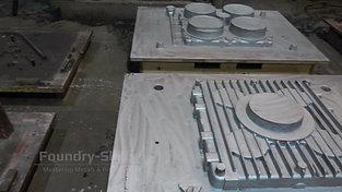 Patern plates hand moulding shop
