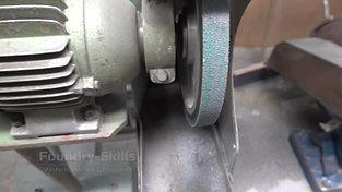 Belt grinder thin
