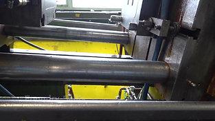 Older hot chamber high pressure high pressure die casting plant