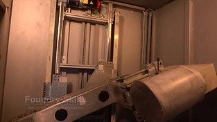 Interior view of X-ray machine