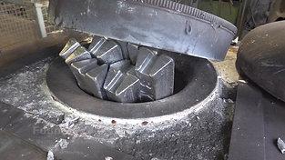 Ingots in resistance furnace