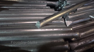 Alloy material in bar form