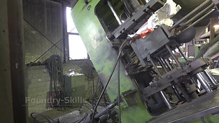 Tilting of a tilt casting machine overview