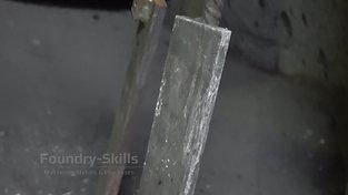 Slag on slag iron