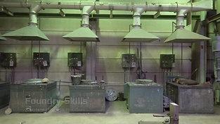 Overview melting shop resistance furnace