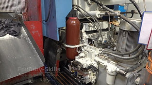 Casting cell of hot chamber high pressure die casting overview