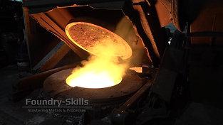 Smoke emission induction furnace