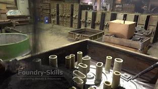 Screw mixer in hand moulding shop