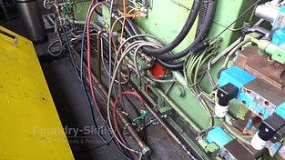 Older high pressure die casting machine overview