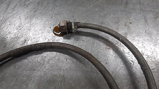 Tempering hose with oil