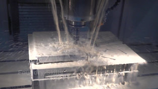 CNC milling process