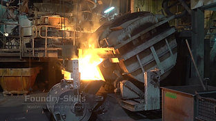 Melt transfer in cupola furnace operation