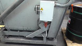 Tilting crucible furnace