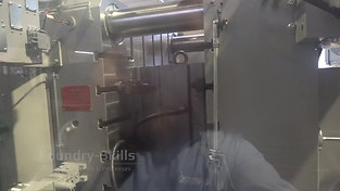 Opening an assembled high pressure die casting die