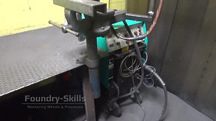 Overview welding station