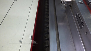Screw conveyor for chips from a CNC machine