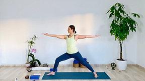 Vinyasa cardio haut du corps (dos, bras)