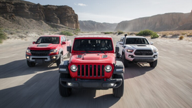 MotorTrend Presents Mojave Road: Three Trail-Ready Trucks Against the Desert