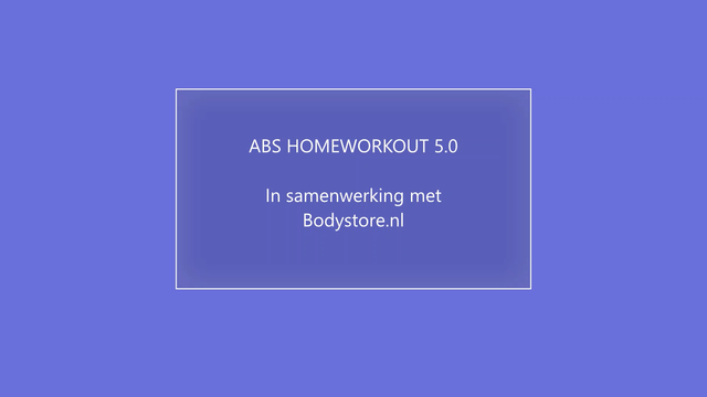 ABS HOMEOWORKOUT 5.0