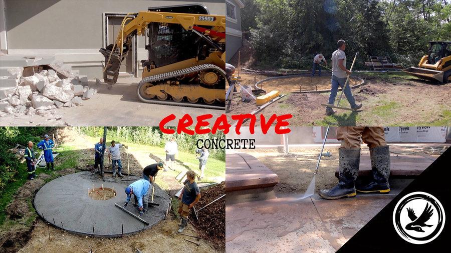 Progress Series - Creative Concrete