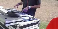 DJ Breezy Spin'n at a Graduation Celebration