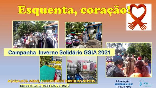 Campanha Inverno Solidário 2021