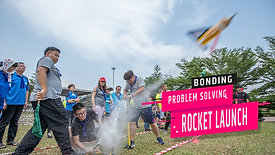 Rocket Launch - FUN & Challenging Team Building | Johor Bahru 100%HRDF Claimable