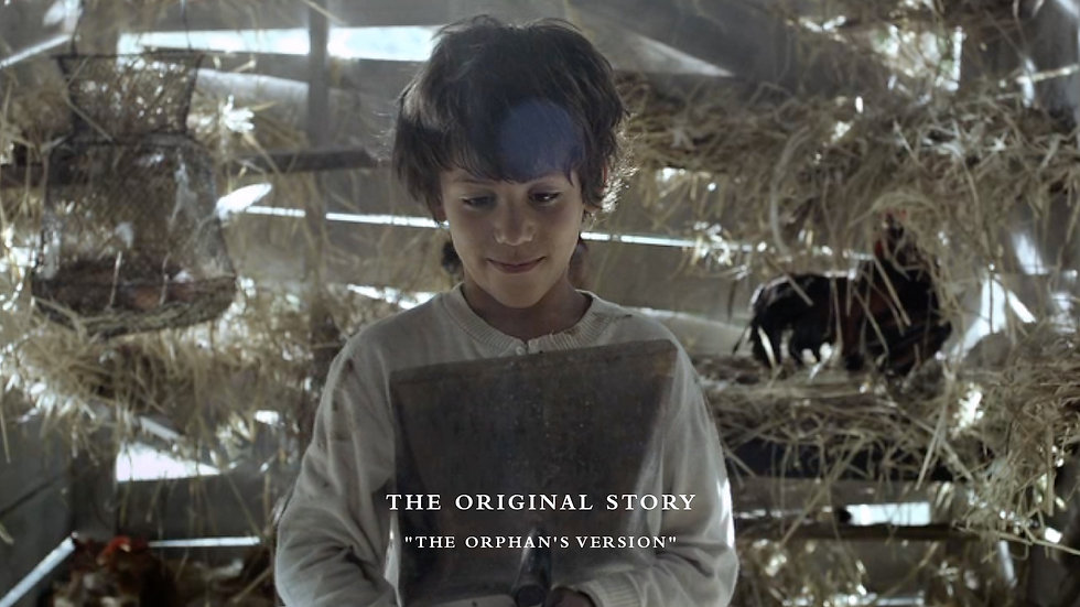 Ksara - The Original Story - The Orphan's Version