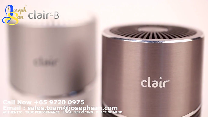 Clair-B Air Purifier & e2F Filter